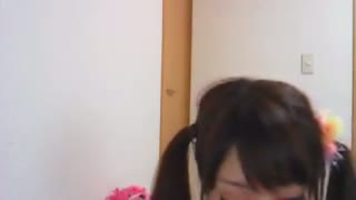 【ライブチャット】ロリツインテール美少女のビキニエロ配信ww【素人】